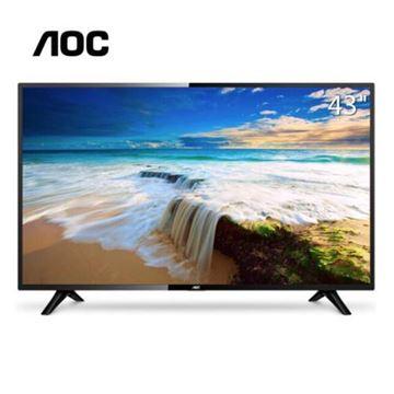 图片 AOC LE43M3778 (AOC LE43M3778 43英寸全高清液晶电视 显示器电视机两用 内置音箱支持壁挂)