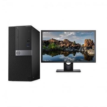 图片 戴尔/DELL OptiPlex 3060 Tower 230649台式电脑 ( i3-8100/4GB/1TB/DVDRW/DOS/键鼠/3年上门服务/E2016H 19.5寸)