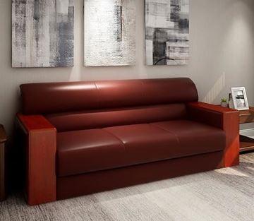 图片 EA209款 三人沙发 色板A66-004 浅色 三人座