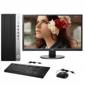 图片 HP ProDesk 600 G4 MT/New Core (i5-8500/16G/256G SSD/1T)/无光驱/2G独显/中标麒麟V7.0/3-3-3全保/机箱智能电磁锁/VGA接口+23.8寸显示器